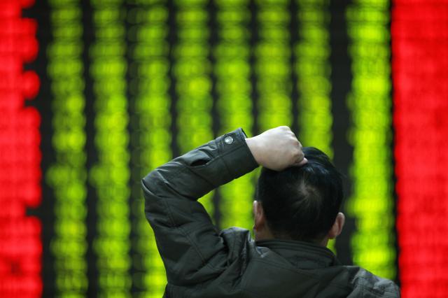 중국 주식 꽝! 꽝! 꽝! … 투자 자금 썰물