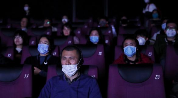 우한 폐렴 확산에 중국 극장가 풍경