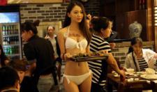 선양 식당 '비키니 미녀의 서빙'으로 대박